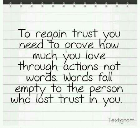 To trust again | Broken trust quotes, Quotes deep, Inspirational quotes