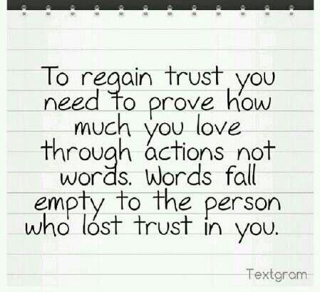 To trust again   Broken trust quotes, Quotes deep, Inspirational quotes