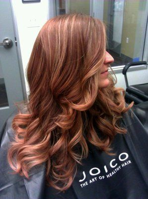 Rose Gold Sombre