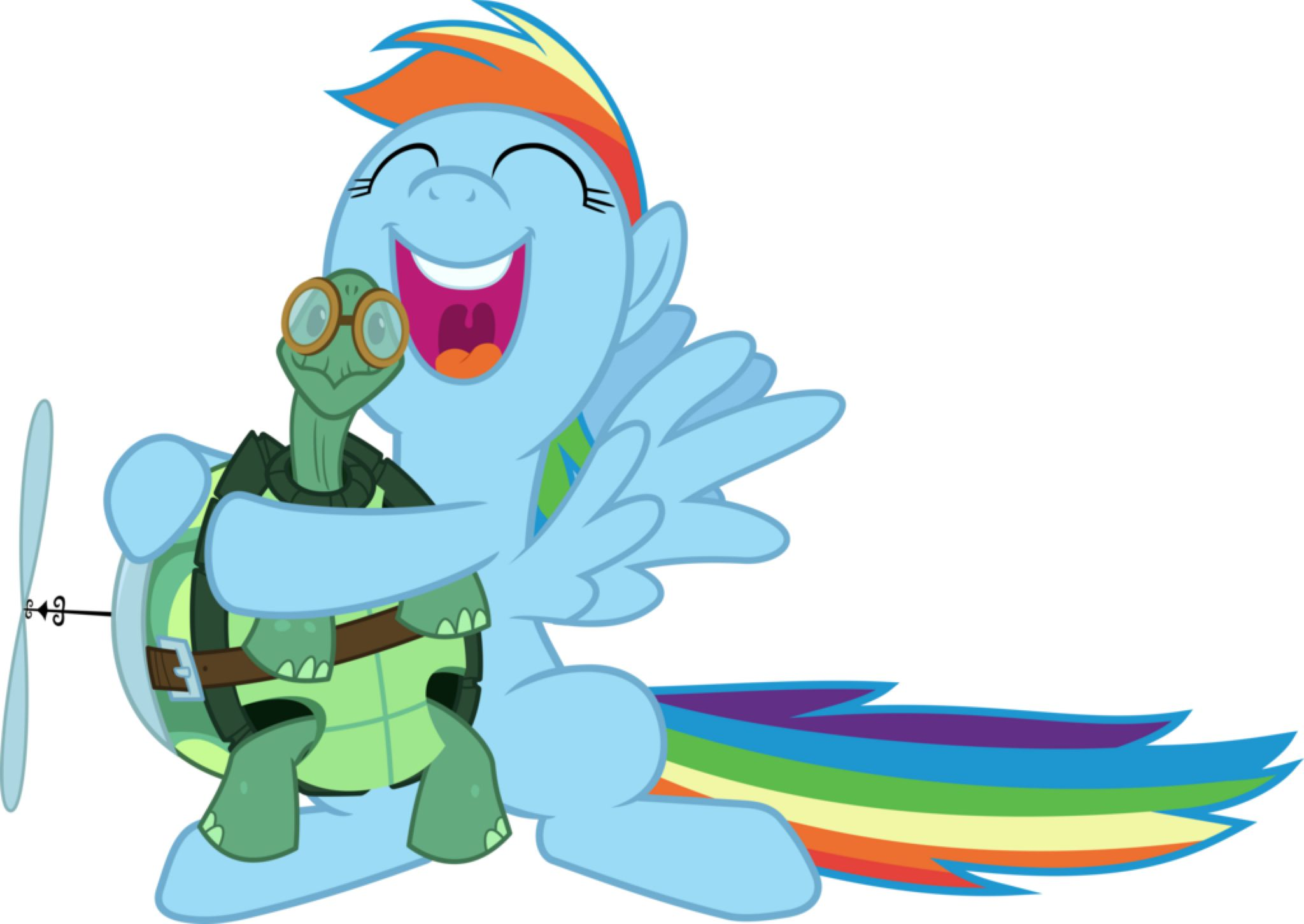 Image result for rainbow dash and tank