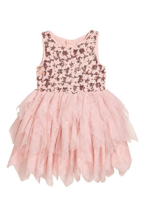 e39461244 H&M Lace Dress with Tulle Skirt   Kids fashion girls   Lace dress ...