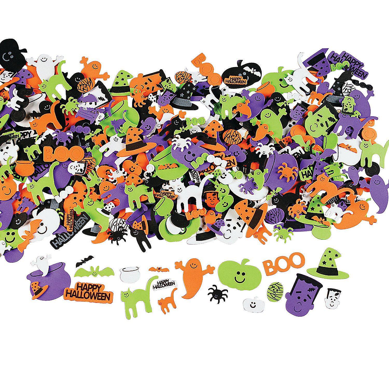 Happy Halloween SelfAdhesive Sticker Shapes