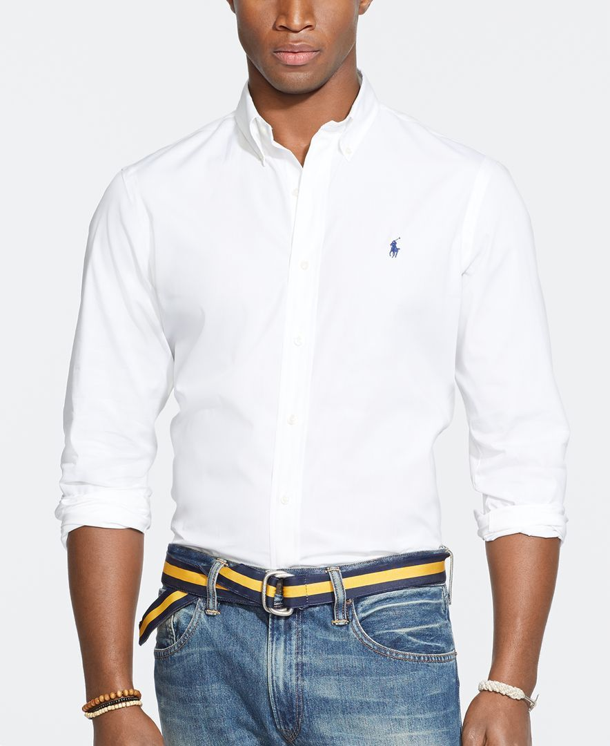 176853d1623 Polo Ralph Lauren Men s Big   Tall Poplin Shirt