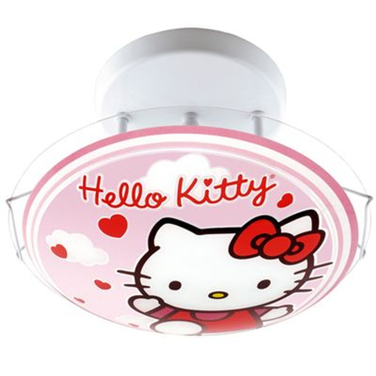 Luminaire En Verre Hello Kitty Taille Taille Unique Chat Hello Kitty Cuisine Hello Kitty Luminaire