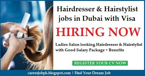 Hairdresser Jobs In Dubai With Free Visa New Las Salon Is Looking Experienced Hairstylist Good Salary Package Benefits And As Well Employment