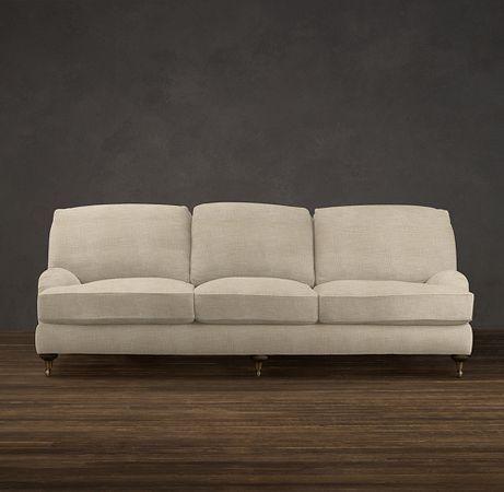 Admirable Restoration Hardware English Roll Arm Sofa In Perennials Download Free Architecture Designs Crovemadebymaigaardcom