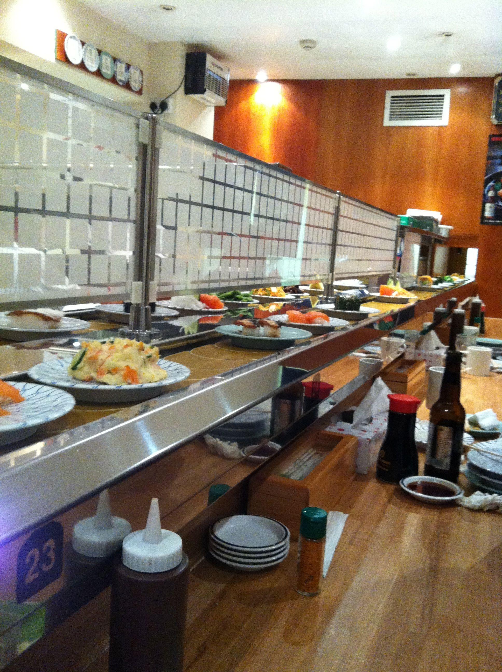 Kulu kulu sushi south kensington