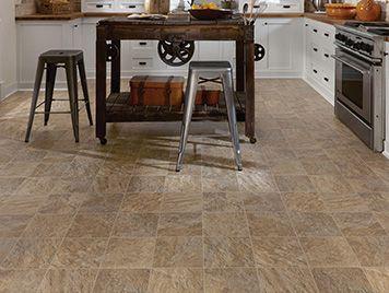 mannington luxury vinyl flooring - cambridge silver / limestone