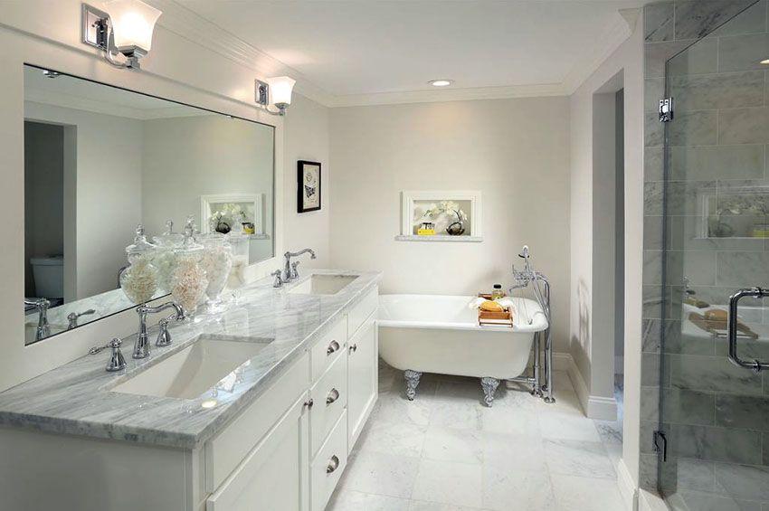 Clawfoot Tub Bathroom Designs Endearing Bathroom Floor Tile Ideas Design Pictures Inspiration Design