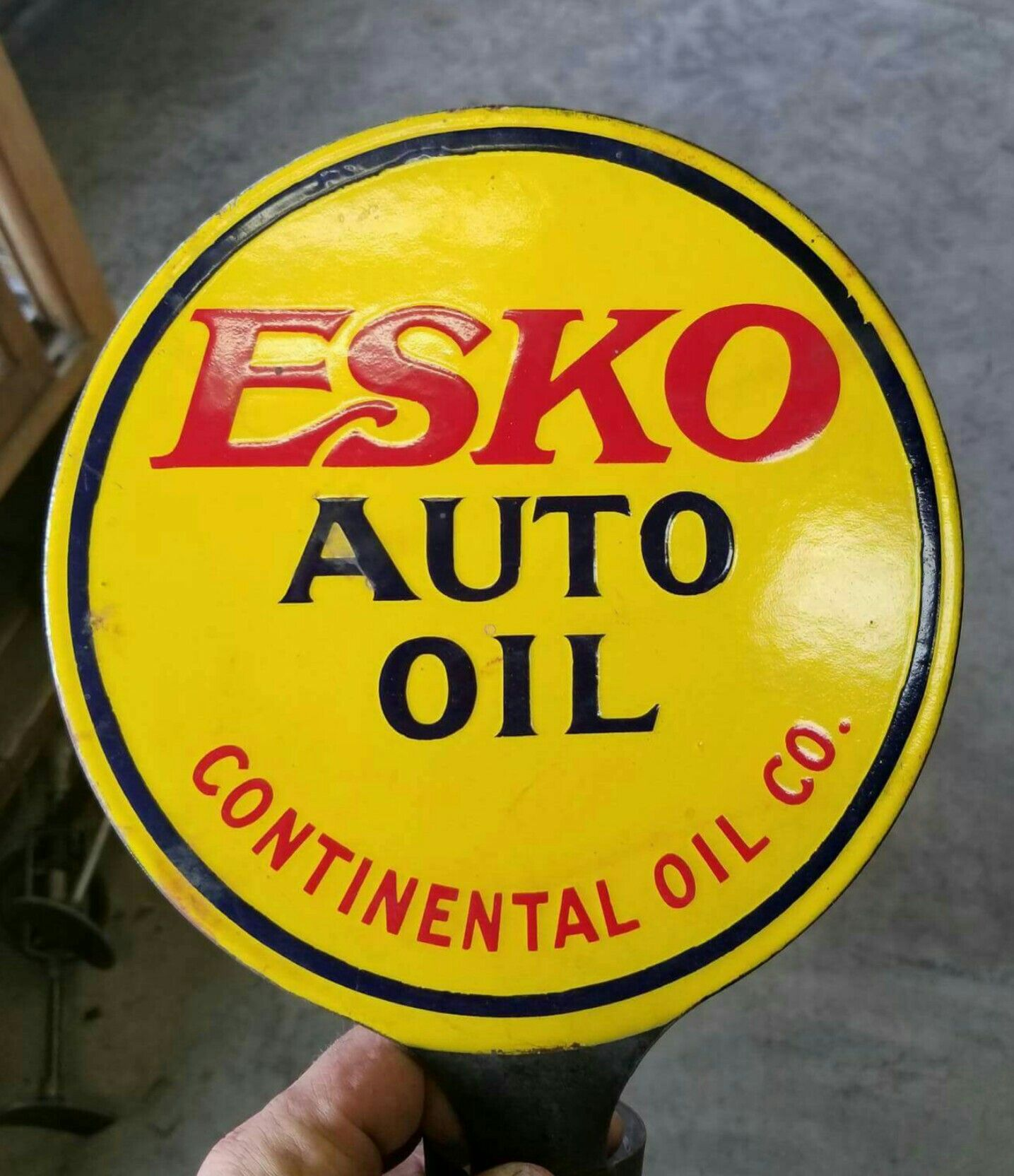"6/"" GOOD GULF GASOLINE SIGN decal lubster gas pump oil man cave GULF--6"