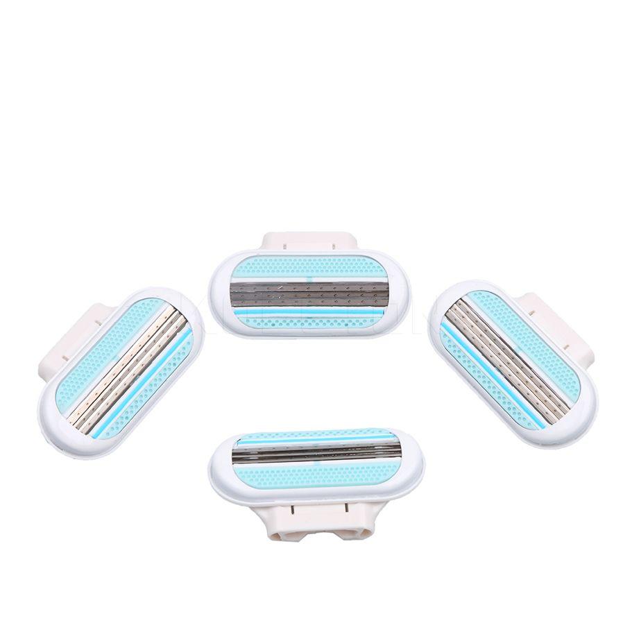 4 teile/satz Rasierklinge Schönheit Rasur Rasierklingen Für Frauen Hohe Qualität Weiblich Sharpener Schnäppchen Rasierapparat werkzeuge