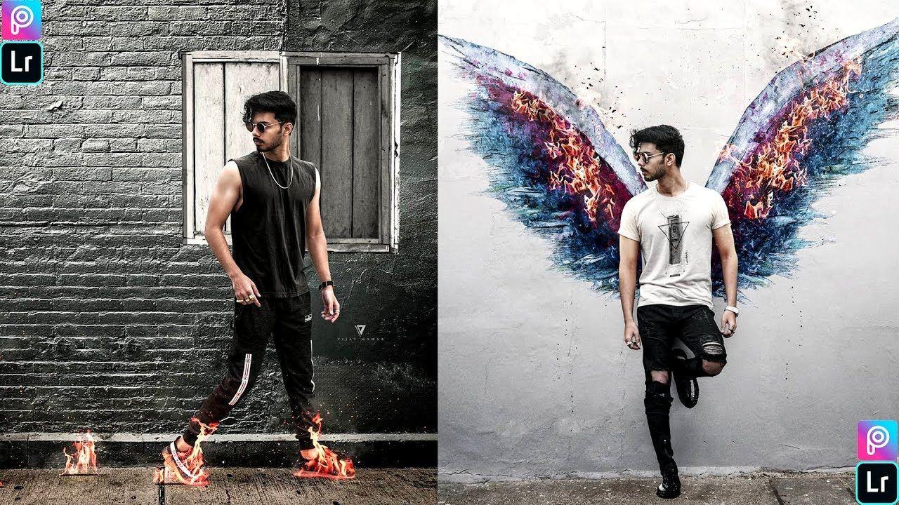 Vijay Mahar Fire On Wings Photo Editing Vijay Mahar Wings