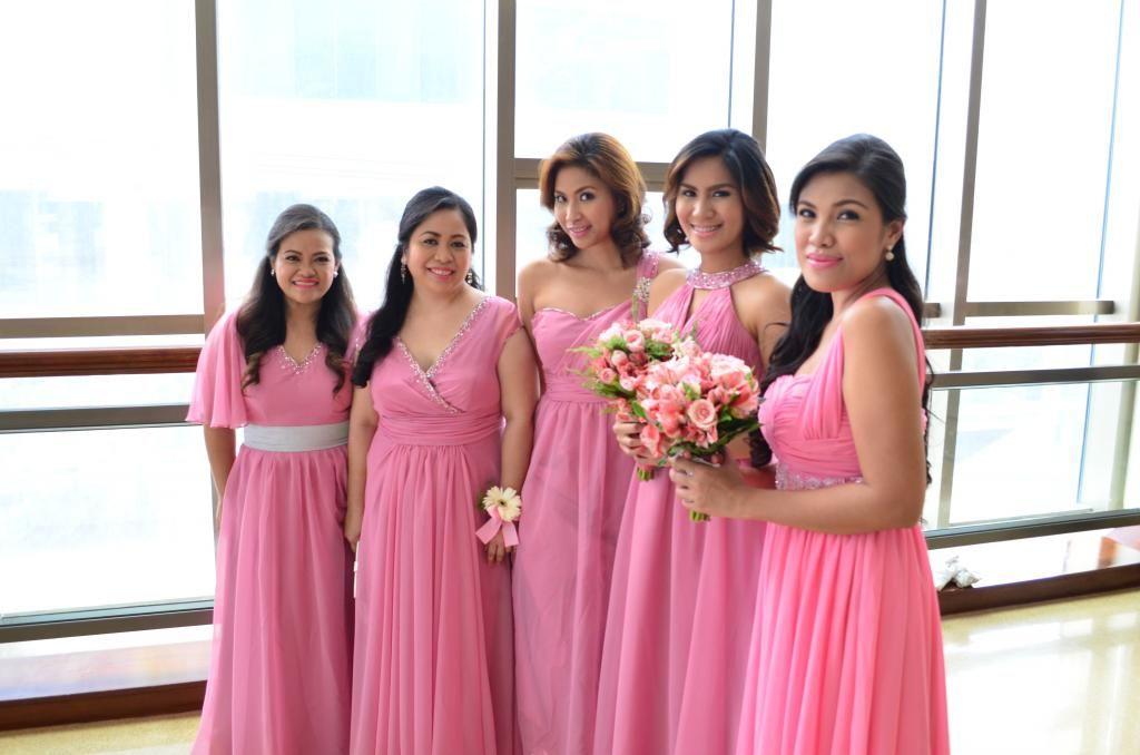 Bridesmaid dresses made in Divisoria | Patchwofk | Pinterest