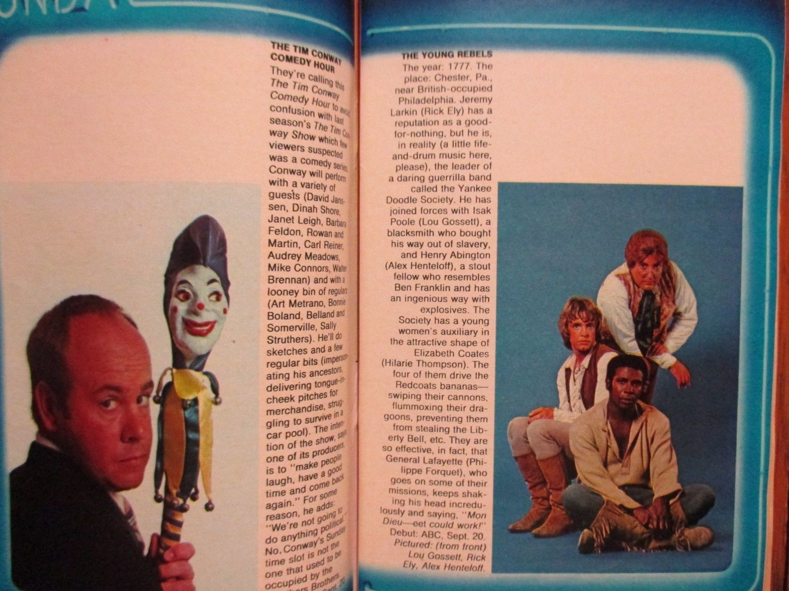 1970 Fall Preview Tv Guide The Partridge Family Don Knotts