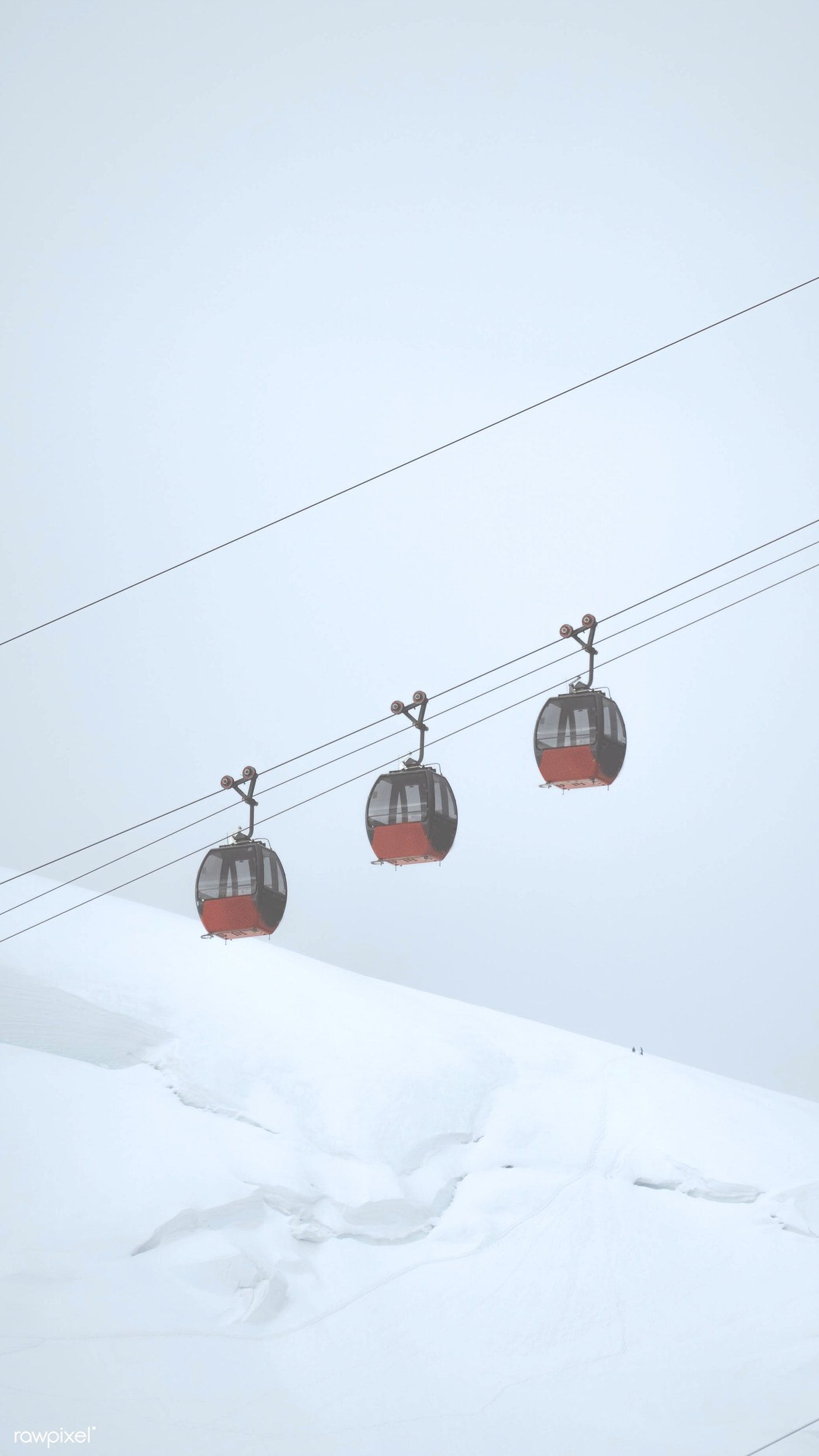 Cable Car Passing Through The French Alps Mobile Phone Wallpaper Free Image By Rawpixel Com Jack Anstey French Alps Alps Phone Wallpaper