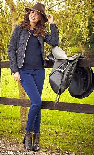 Quilted jacket, £79.99, zara.com Sweater, £9.99, hm.com Boots, £125, banana republic.gap.eu Jeans, £40, topshop.com  Fedora hat, £120, joules.com