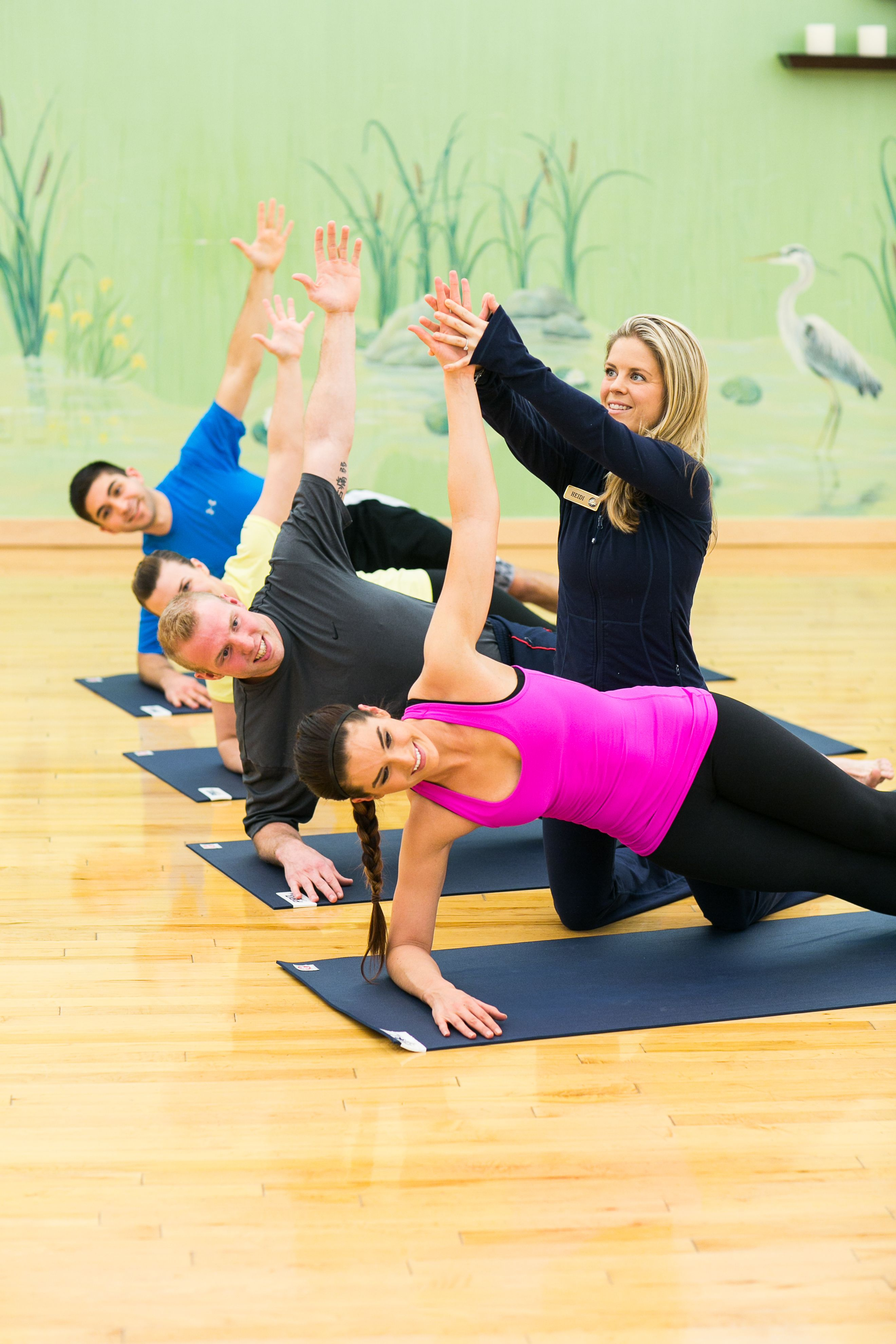 Yoga at PRO Sports Club. Get a workout while relieving