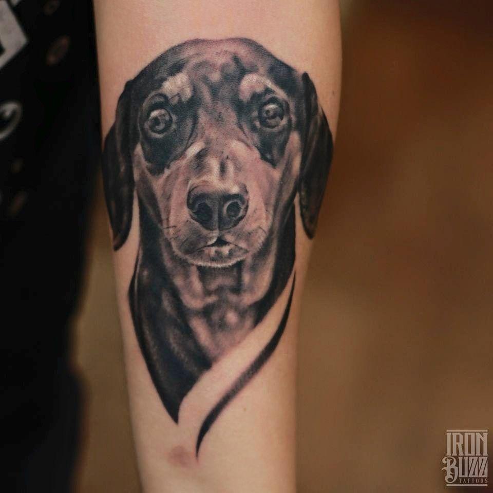 50+ Awesome Dog portrait tattoo ideas ideas