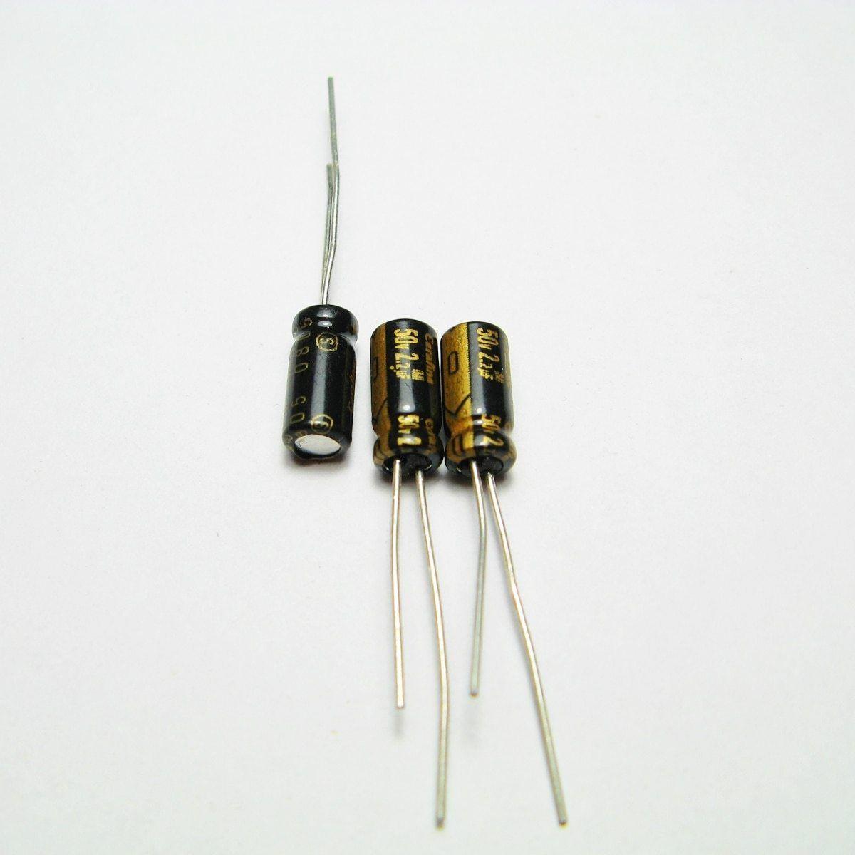 20pcs Thailand Elna Cerafine 50v2 2uf Audio Capacitor