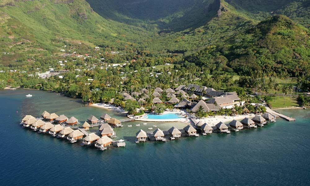 Premium Overwater Bungalow Moorea Pearl Resort Moorea