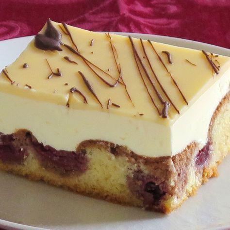Photo of Cake recipe with egg liqueur '' Verpoorten-Donauwelle '' – cake recipe with egg liqueur