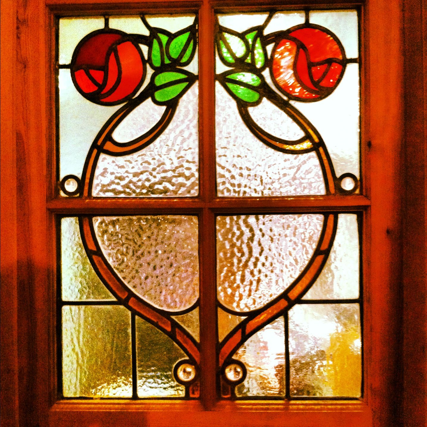 Stained glass window in kitchen products i love pinterest for Stained glass kitchen windows