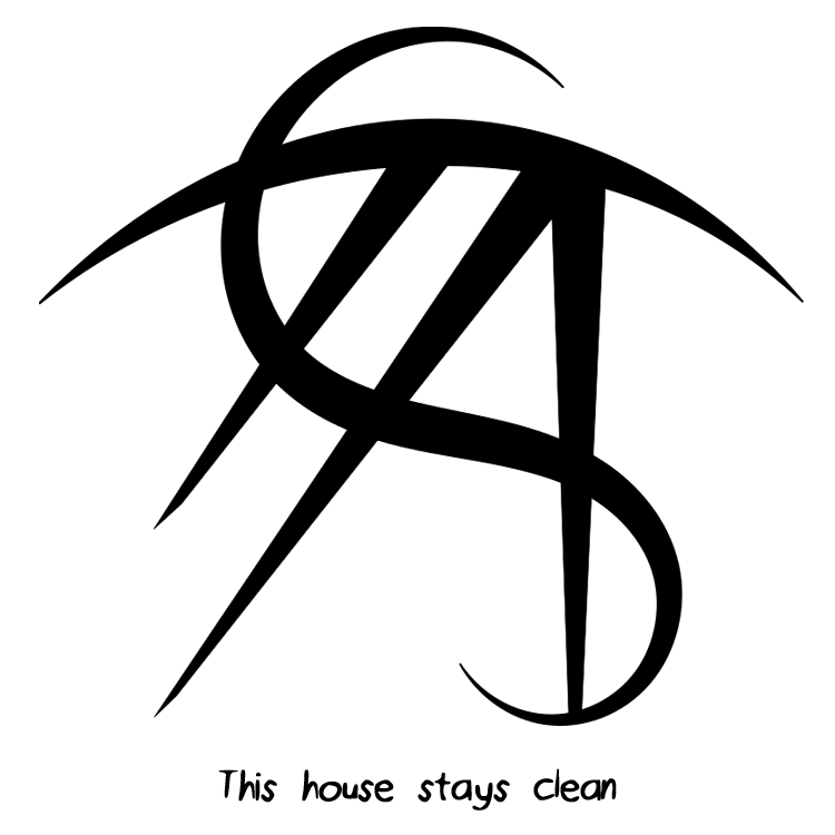 """""""Good scents find their way here"""" sigil """"This house stays"""