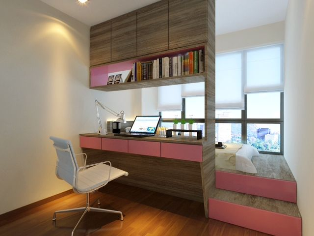 interior design by rezt n relax of singapore - Condo Bedroom Design