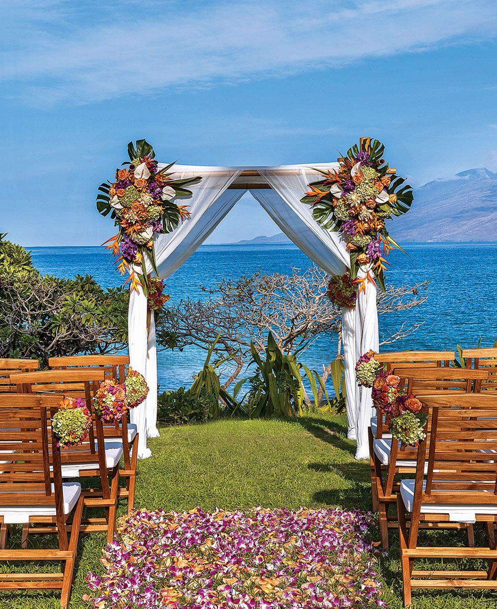 Hawaii island wedding venue: Andaz Maui at Wailea ...