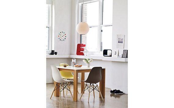Eames® Molded Plastic Dowel Leg Side Chair (DSW). One In Each Color Please.
