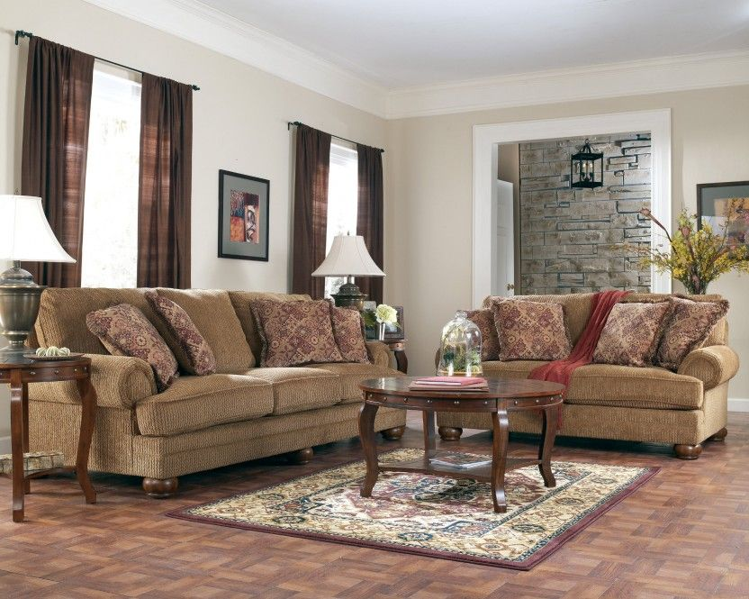 Ashley Furniture Clearance Richland Amber Sofa Group Living