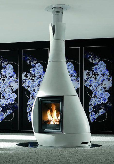 25 originelle Kamin Design Ideen für moderne Einrichtung Fireplace