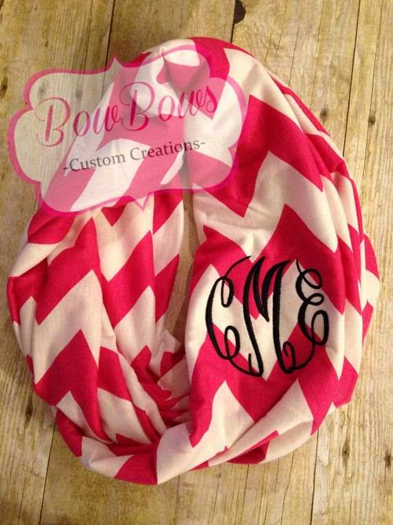 Welcome to my shop!  This listing is for one (1) double loop infinity scarf.  Choose from multiple colors.  All scarves are chevron, color with