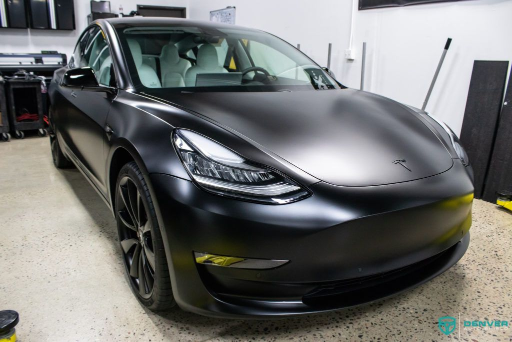 Tesla Model 3 Performance In For Xpel Stealth Paint Protection Film And Gyeon Quartz Ceramic Coating In Denver Denver Auto Tesla Model Tesla Paint Protection