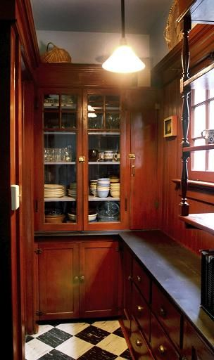 Historic Victorian Kitchen Cabinets An Important Element: Kithen Remodeling In Lincoln, Nebraska