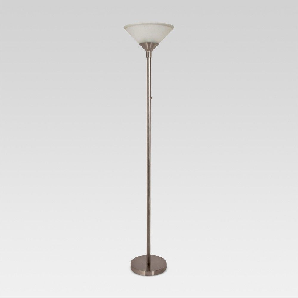 Torch Floor Lamp Silver Lamp Only Threshold Silver Floor