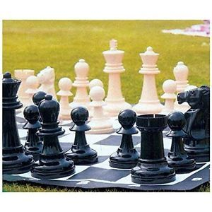 Pressman Giant Garden Chess Set, Yard Deck Patio Outdoor, Free Shipping,  New |