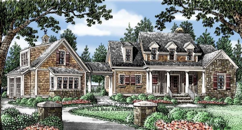 Haleys Farm Plan From Frank Betz Associates Southern House Plans House Plans Farmhouse Southern Living House Plans