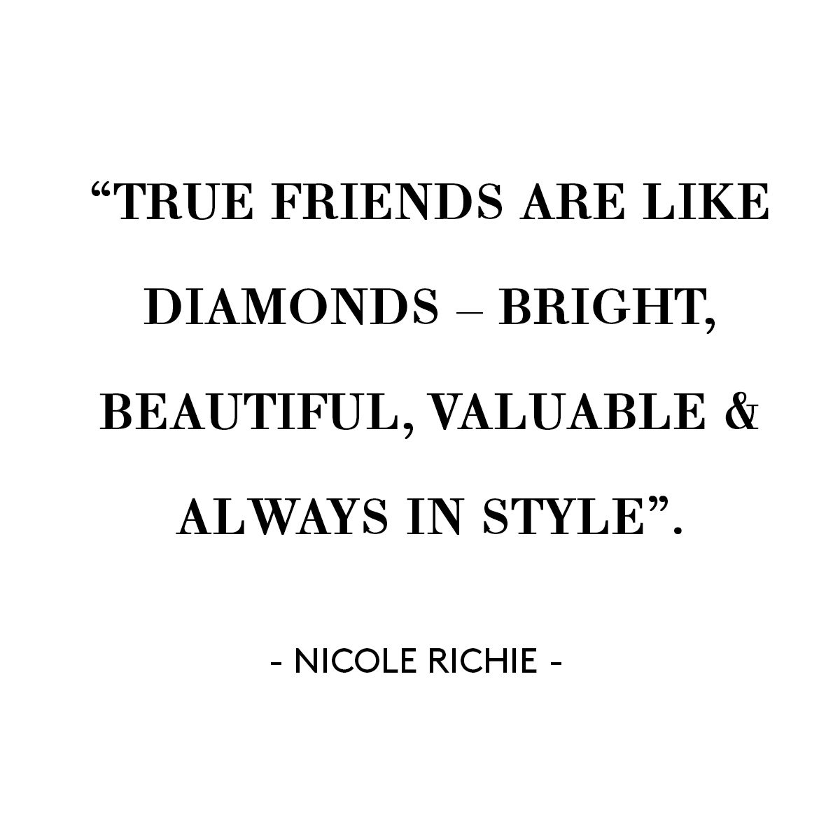 Style Quote | Nicole Richie | Quote | Fashion