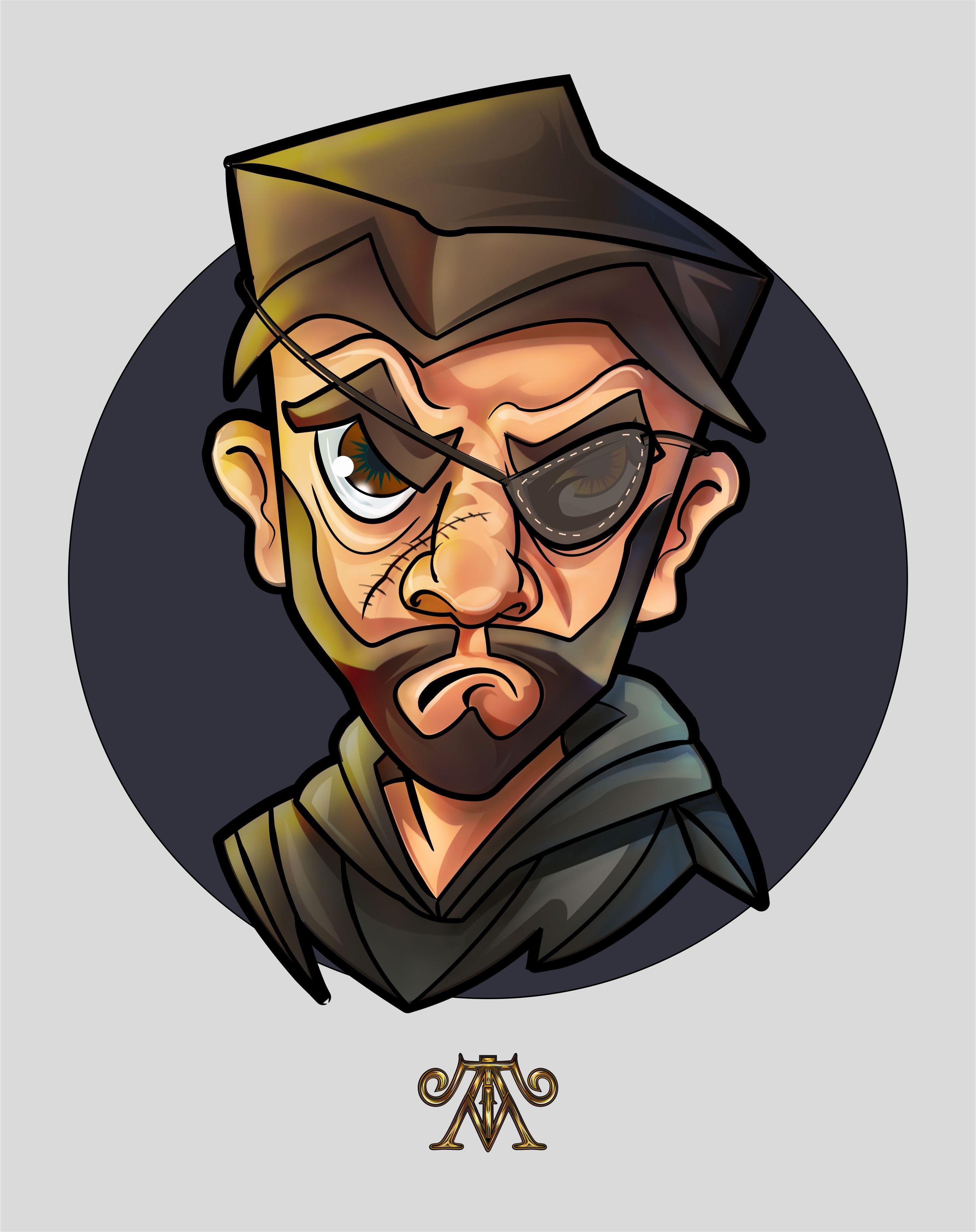 Hitman Cartoon Character Character Cartoon Artwork