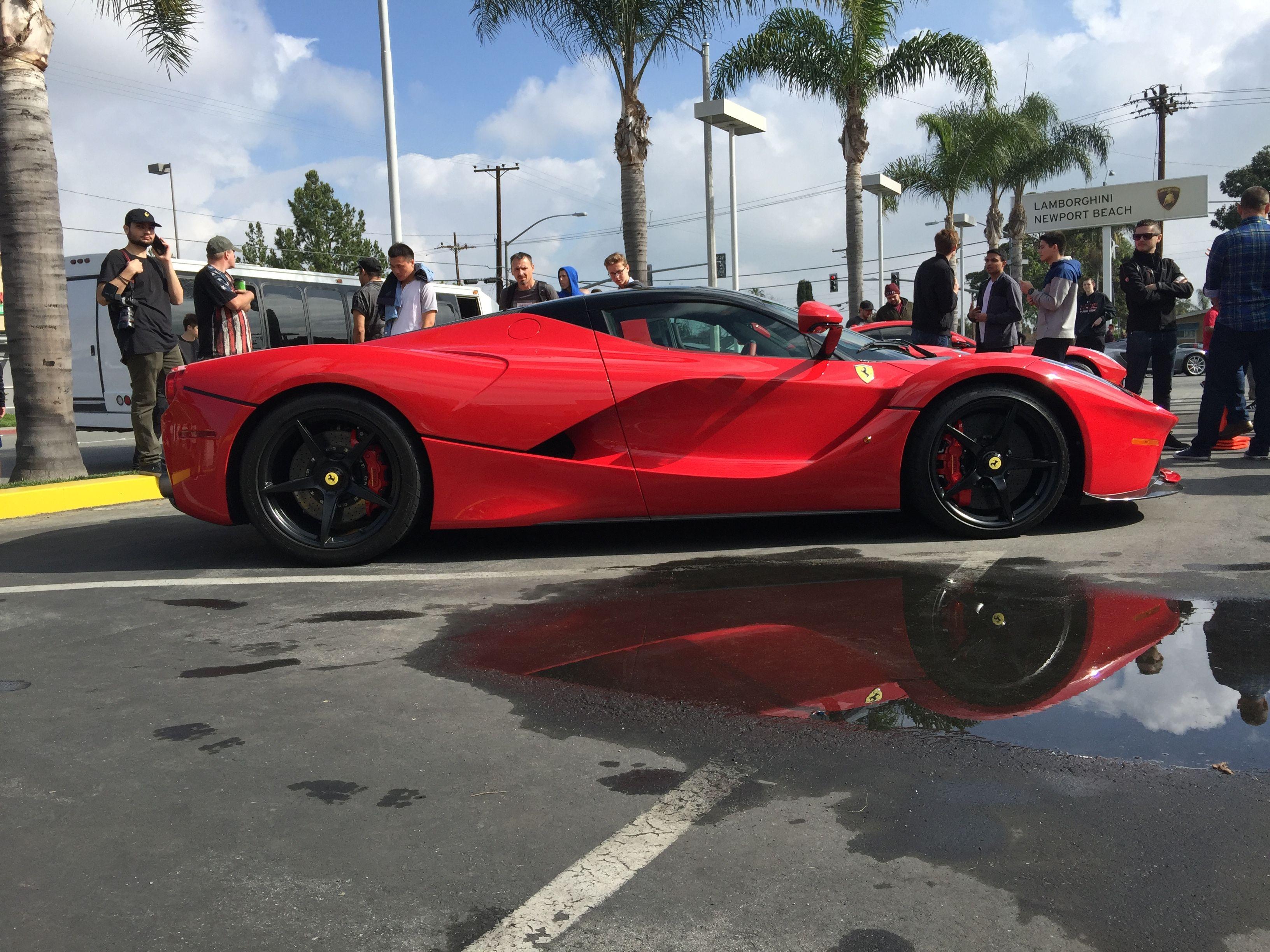 LaFerrari at Newport Lamborghini 2/4/17