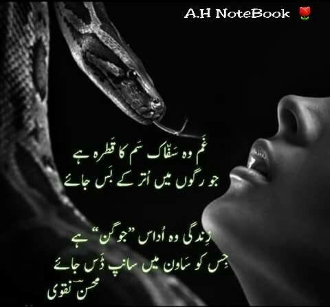 Zindagi wo udas jogun hai ಥ_ಥ A H | pOetrY_% | Urdu poetry