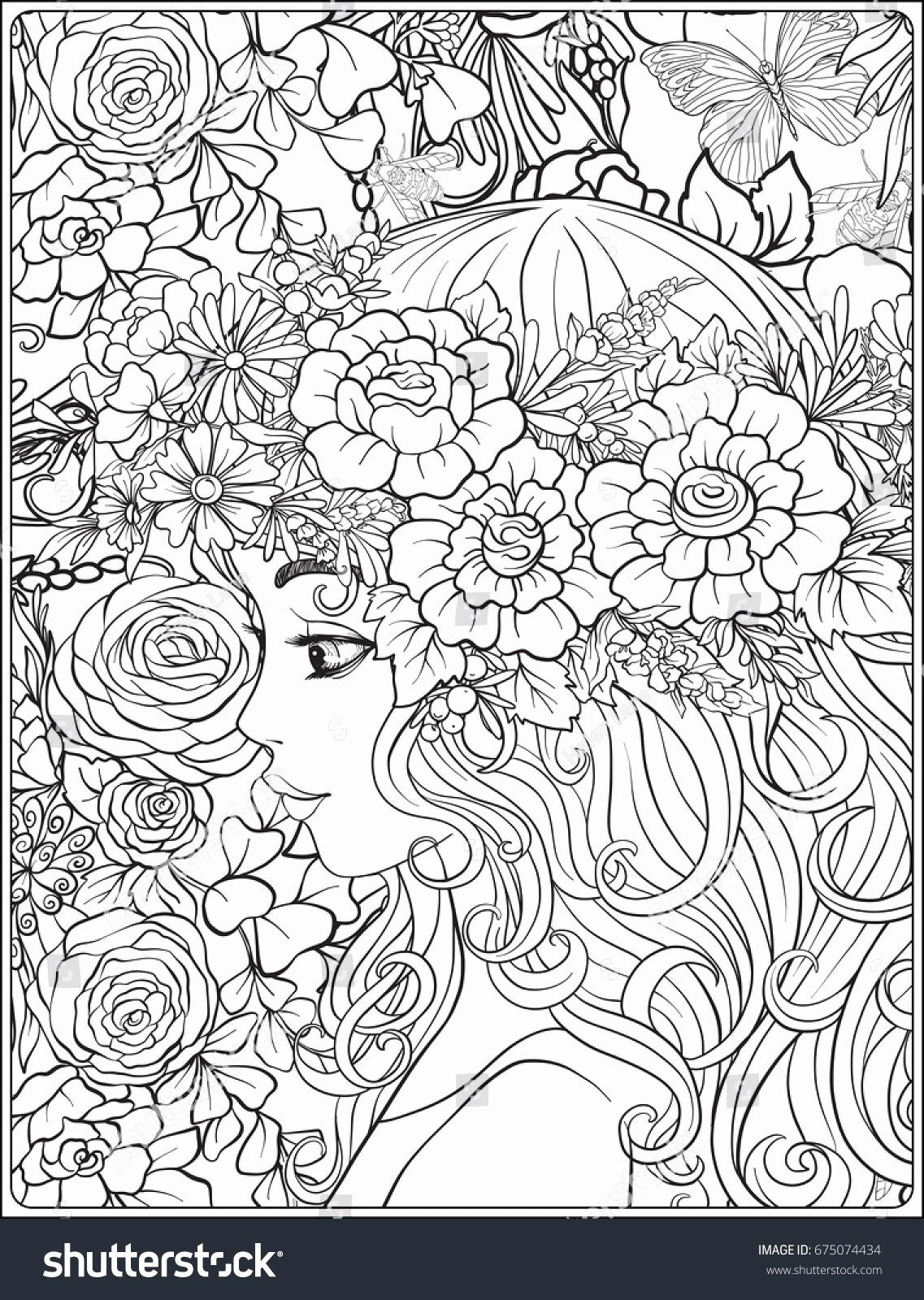 Printable Coloring Pages For Adults Flowers Elegant Coloring Flower Wreath Coloring Pageslts Animals Prin Cute Coloring Pages Coloring Pages Owl Coloring Pages