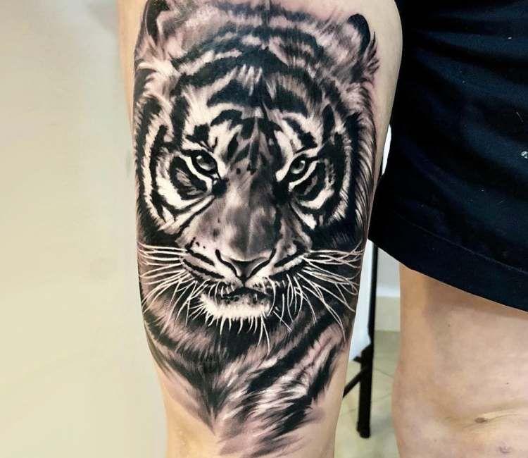 Tiger Tattoo By Bejt Tattoo Post 21700 Tiger Head Tattoo Tiger Tattoo Sleeve Tiger Tattoo Design