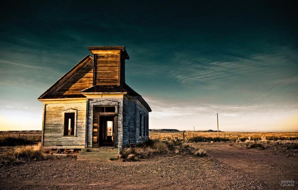 Igreja Abandonada no Novo Mexico