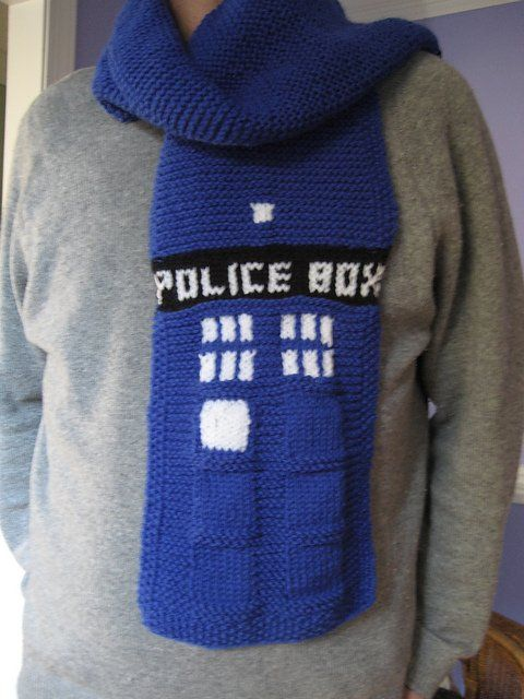 Tardis Scarf By Daun Daemon Httpbit2cph7r0 Doctor Who