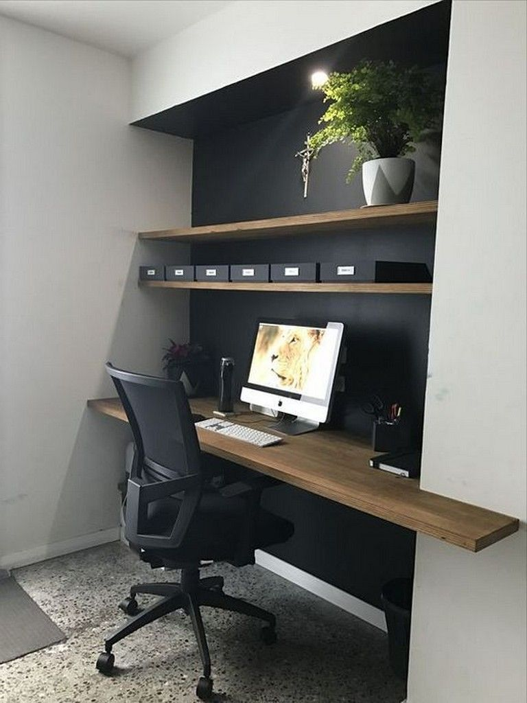 18 cool wall storage ideas small office page 5 of 19 - Small office setup ideas ...