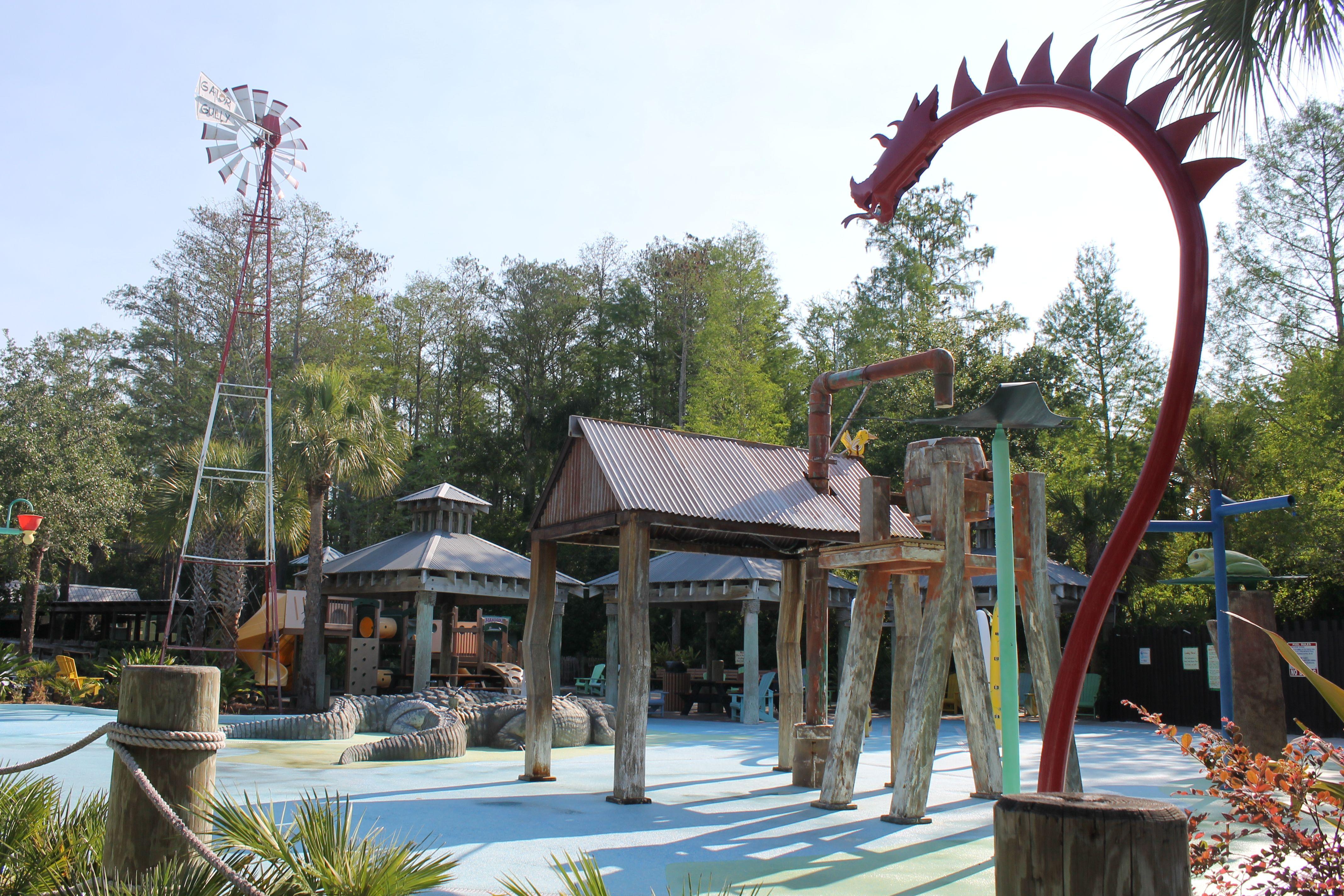 Gator Sully Splash park
