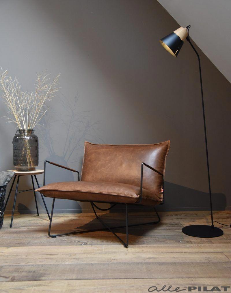 Le fauteuil industriel Earl en 17  Fauteuil salon design