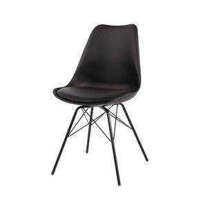 Chaises Chaise Plastique Chaise Metal Decoration Noir Et Blanc